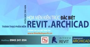 ĐÀO TẠO HỌA VIÊN REVIT/ ARCHICAD